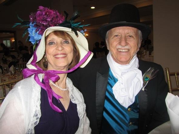 Grandma Bette & Grandpa Rick at Beth's Victorian Wedding in Peru