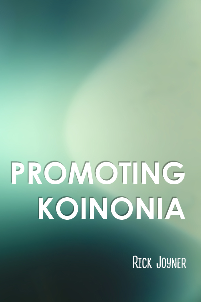 Promoting Koinonia