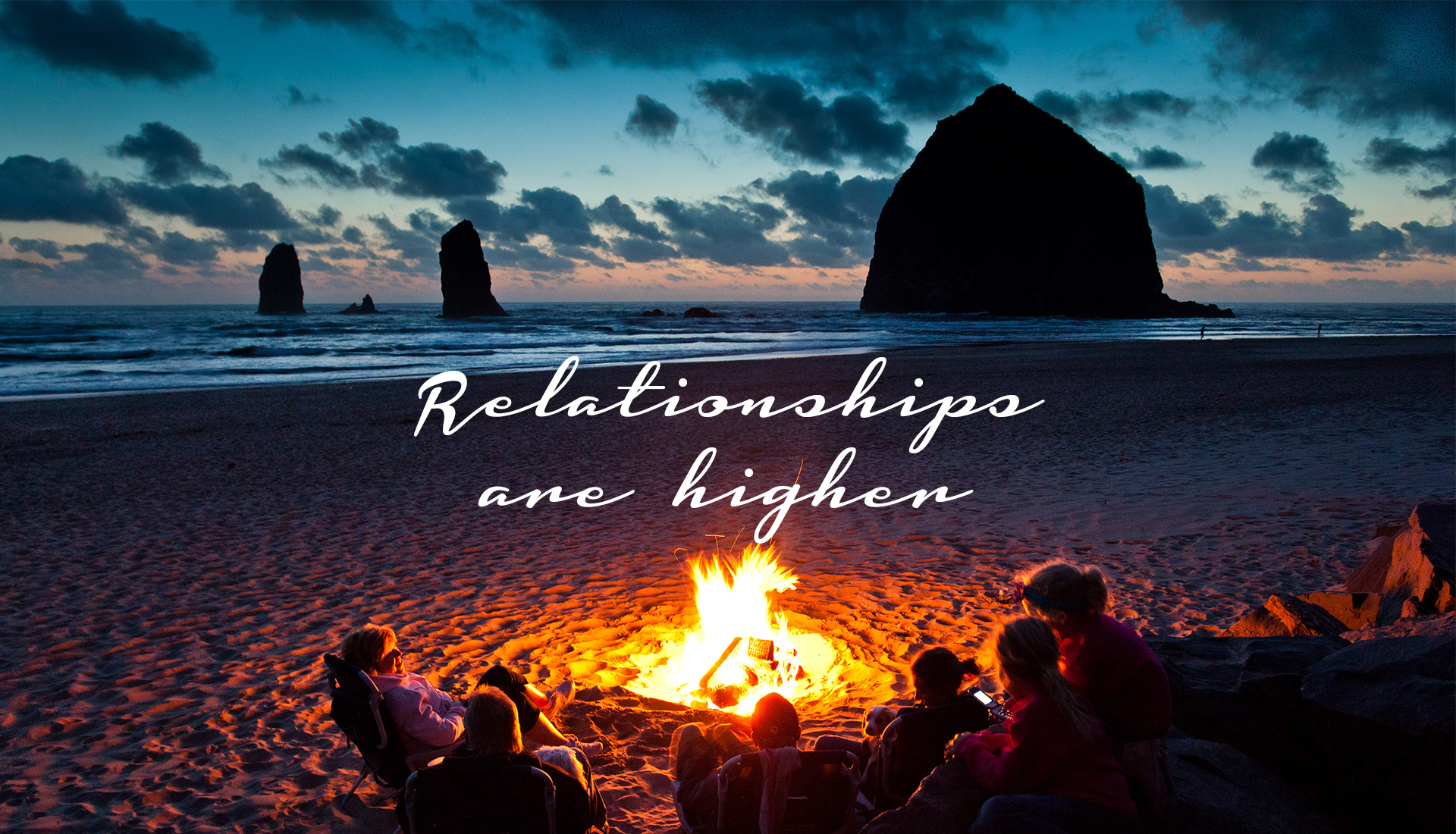 Relationships are higher